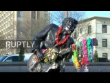 США Поклонники прощаются с Чаком Берри перед похоронами Сент-Луис.