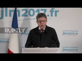 Франция Медиократы и олигархи аплодируют - Меланшон реагирует на поражение на выборах.