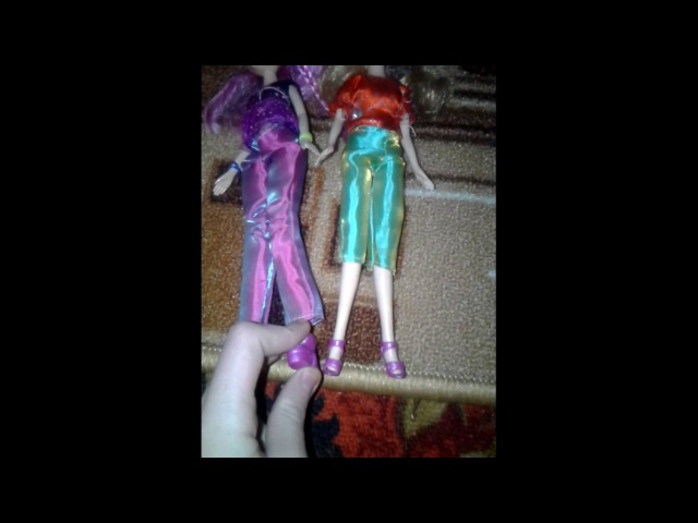 Обзор на мою коллекцию кукол Винкс