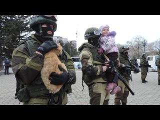 Возвращение Крыма и Симферополя на ИСТОРИЧЕСКУЮ РОДИНУ! Crimea! The way home...