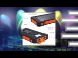10000mah dual usb solar power bank Зарядись по полной