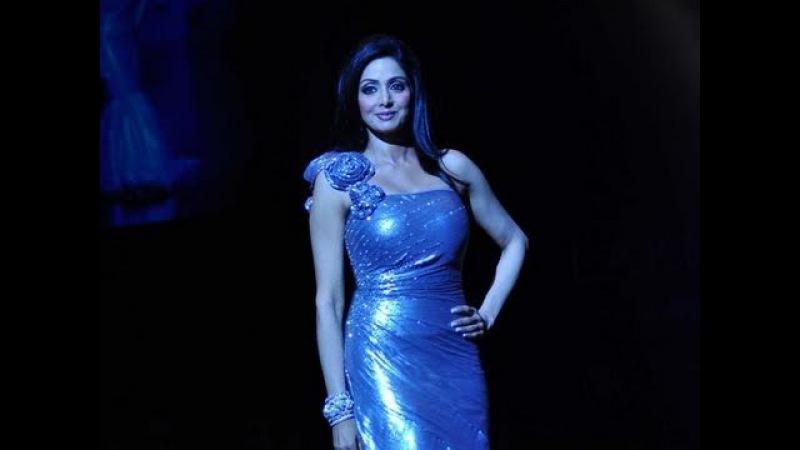 Sridevi walked the ramp for Neeta Lulla at Lakme Fashion Week 10
