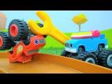 Мультики про машинки! Вспыш и гонки машинок 🏎️ Проделки Крушилы: МАСЛО 🛢️ НА Г...