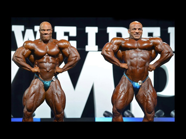 Phil Heath vs. Big Ramy @ 2017 Mr. Olympia - Only Photos No Footage