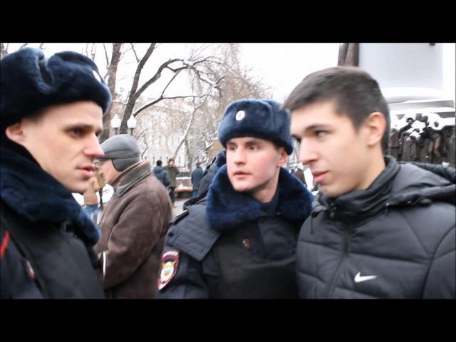 Жесткий разгон антикризисного схода в Москве