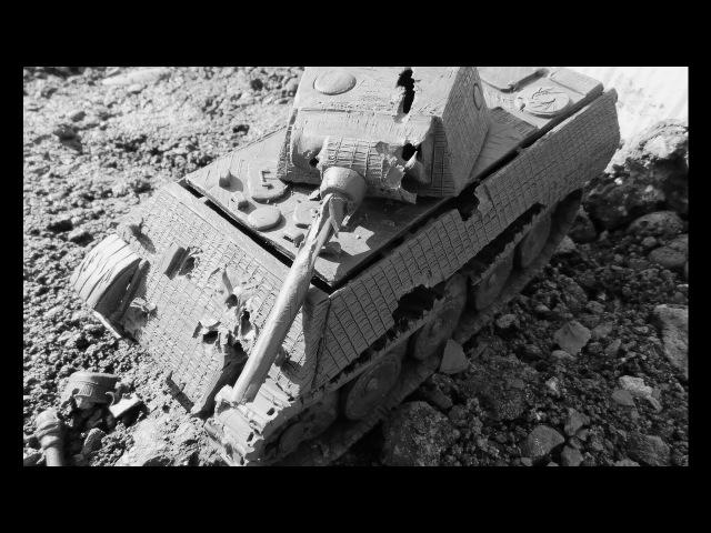 танк VK 30 02 M пантера дырявое корыто имитация испытания обстрелом