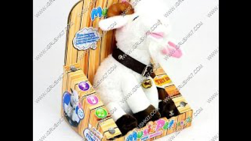 Мягкая игрушка на батарейках CL 1613 (48) в кор-ке