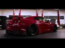 Rare FERRARI RED Nissan GT R R35 FT ARMYTRIX Exhaust LB Works Kits By RACE South Africa