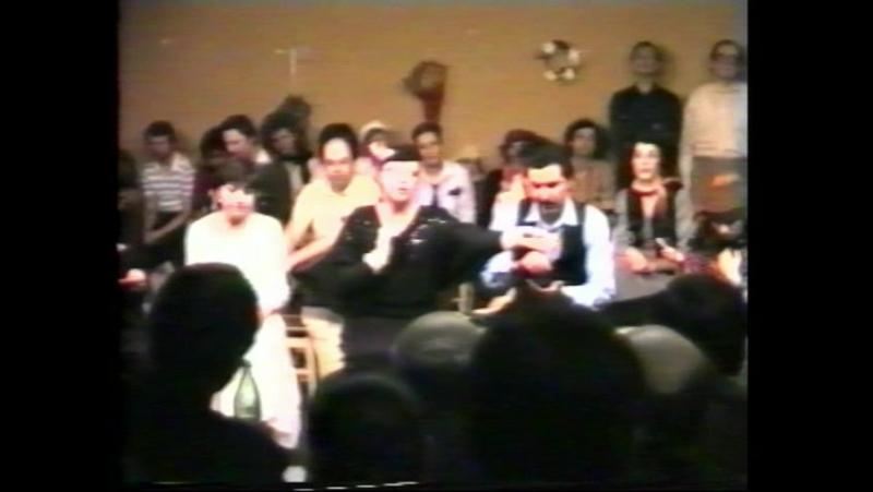 ГИТИС Моя сцена в Дипломном спектакле - В.Шкваркин Страшный суд - (плохой звук). Эта моя сцена - пародия на МХАТ...)