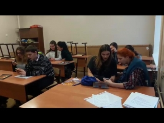 Наталия Аникина. на уроке сольфеджио. Рабочий процесс