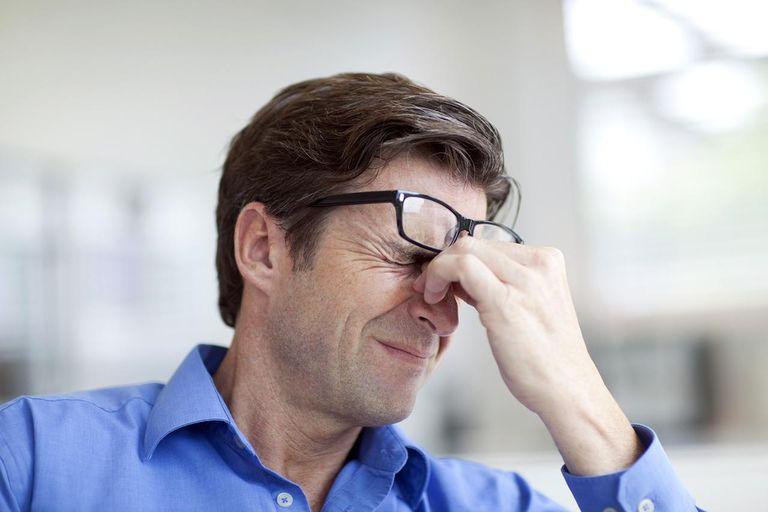 Симптомы сильного стресса