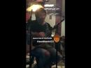 Geoff Warburton' Instagram Story Oct 11 2017