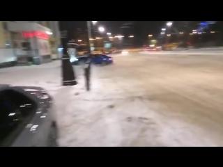 Дрифтанул на Ауди S5 в Екатеринбурге, прикол, авария, дтп, дрифт