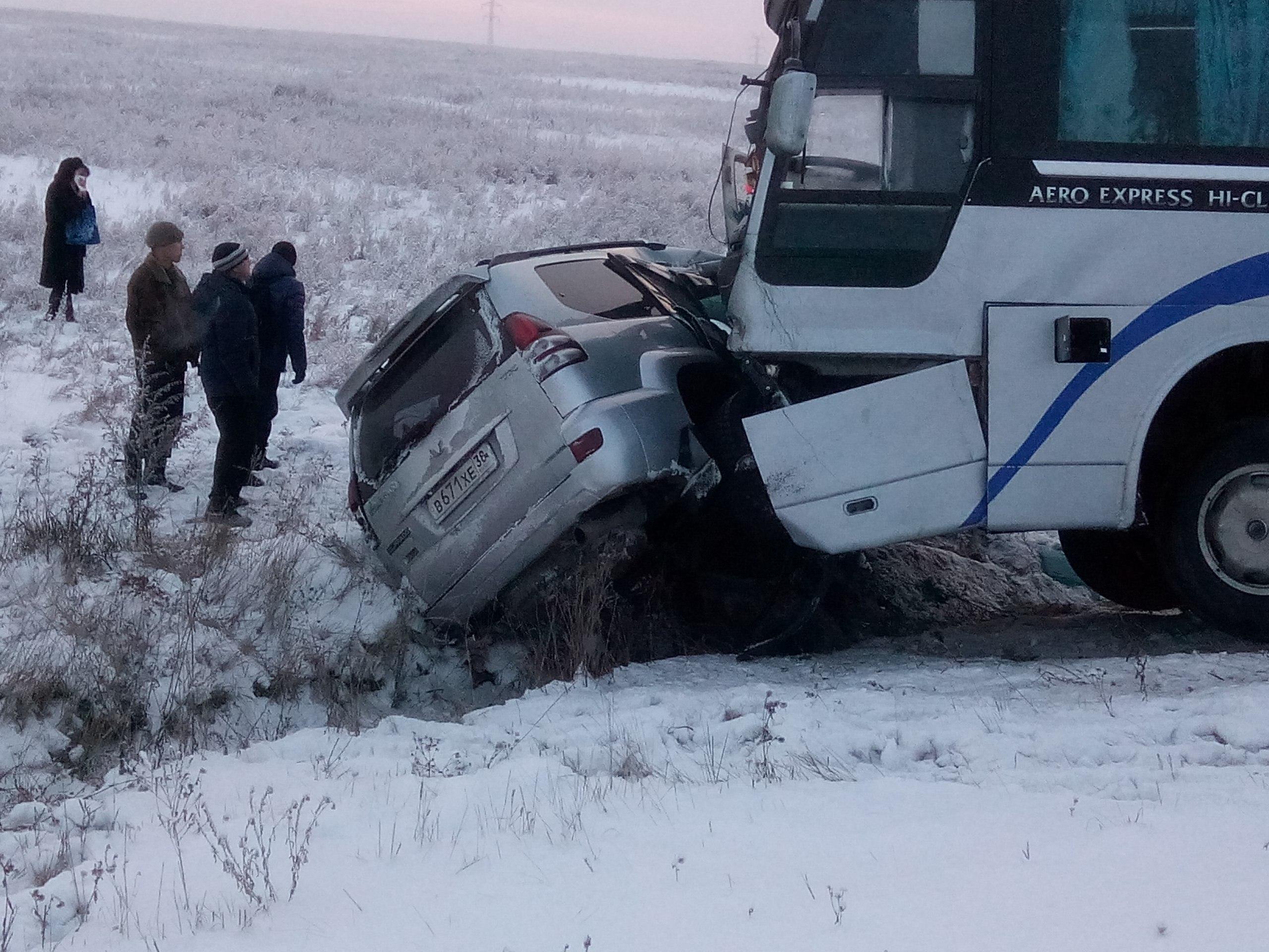 Авария в Усольском районе Иркутской области