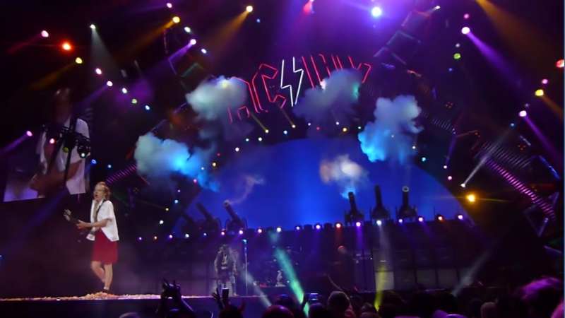 ACDC and Axl Rose - For Those About to Rock (We Salute You)
