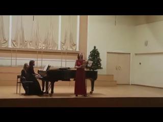J.S.Bach `SCHWEIGT STILLE, PLAUDERT NICHT` BWV 211 aria Lieschen №8; C. Debussy `L' ECHELONNEMENT DES HAIES`