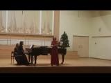 J.S.Bach `SCHWEIGT STILLE, PLAUDERT NICHT` BWV 211 aria Lieschen №8 C. Debussy `L' ECHELONNEMENT DES HAIES`