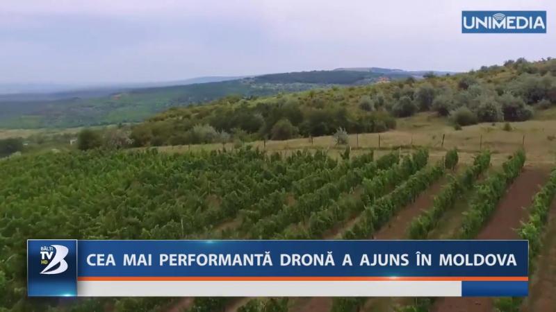 CEA MAI PERFORMANTĂ DRONĂ A AJUNS ÎN MOLDOVA