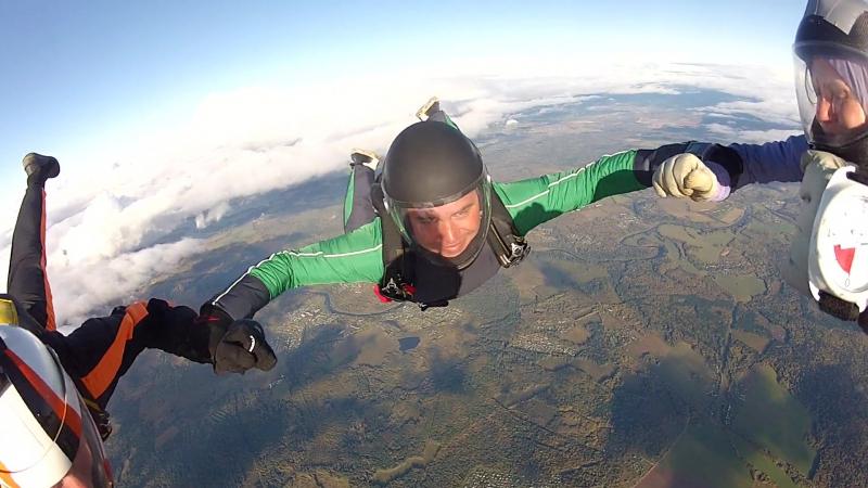 Поздравляем Ярослава Гречкина с совершением трёхсотого прыжка!