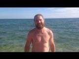 Теплое море Феодосии в октябре. Осень в Крыму чудесна. Бархатный сезон. Добромир