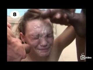 Видео порно реакция девушек на спермум