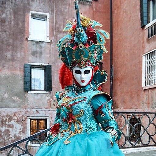 🎊Готовимся к Венецианскому Карнавалу