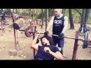 немного позитива Sport Training Motivation Flex Gym Fitness Park Kuzminki