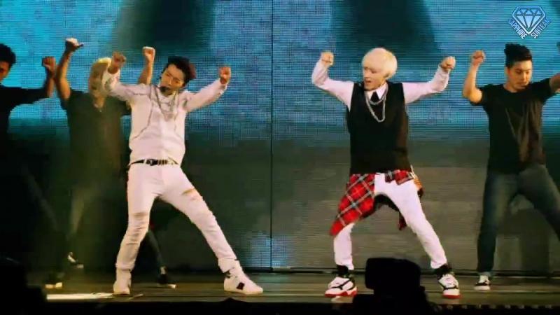 Super Junior (슈퍼주니어) - Motorcycle [Korean ver.] (DE (Donghae Eunhyuk)) [Super Show 6 (SS6) In Japan, Tokyo] (рус.саб)