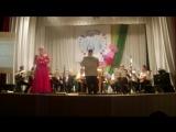 Оркестр Чайковского музыкального училища-Б.Мокроусов.Одинокая гармонь