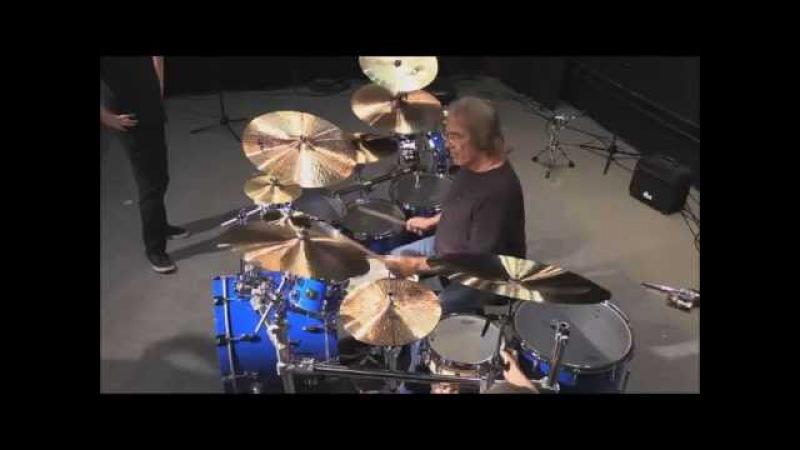 Vinne Colaiuta - New Gretsch Drumkit for Sting Peter Gabriel Rock Paper Scissors 2016 Tour