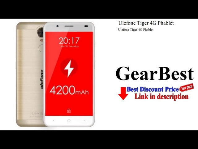 Ulefone Tiger 4G Phablet   GearBest review - unboxing