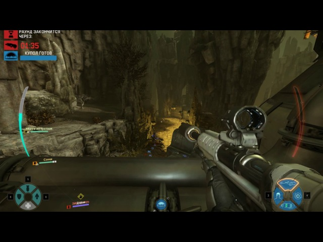 Играем в Evolve Stage 2 25 Тренинг Охота против ИИ Медик Лазарус