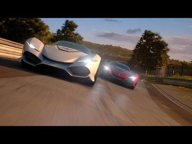 IsoRivolta Zagato Vision Gran Turismo Unveiled
