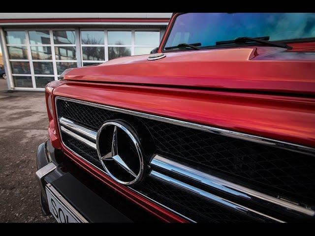 2017 Mercedes Benz G55 3M Crazy Colors