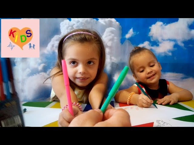 Учим цвета Развивающее видео Детям Learning Colors Developing Videos for Kids