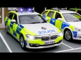 The Police Car Real Race in the City - Cars &amp Trucks Cartoon - Kids Animation - Video for children