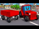 Fairy Tractors Agricultural Machinery Czerwony Traktorek Bajki dla dzieci po polsku