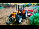 Traktor Animacje i inne Bajki Czerwony Traktorek Praca Fairy tractors for Kids