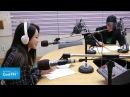깜짝 여자 게스트! 나인뮤지스 경리를 본 DJ이홍기와 딘딘의 반응은? / 161112[이홍445