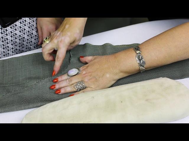 Лекция о посадке брюк Как посадить брюки на фигуру Формование брюк в процессе из...