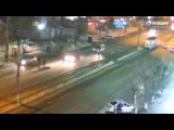 Наезд на пешехода. ДТП Бийск 27.02.17
