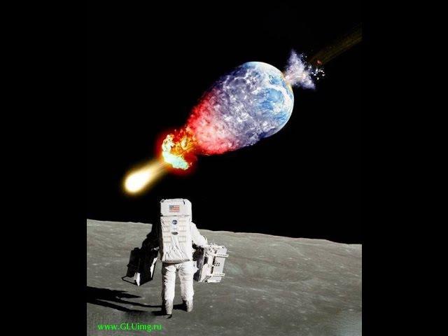 Когда очередной шатл подлетел слишком близко к куполу Плоской Земли его просто ...