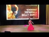Galina Nankovskaya (Amira) - 1st place on the championship of Ukraine (Kiev 2017)