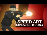Speed Art - Character Rigging 01
