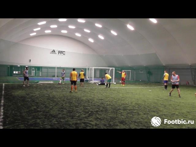 FOOTBIC.RU. Видеообзор 5.06.2017 (Метро Марьина Роща). Любительский футбол