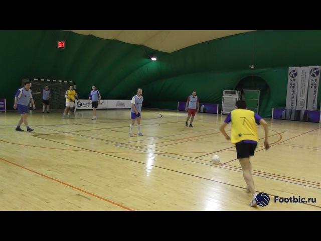 FOOTBIC.RU. Видеообзор 8.06.2017 (Метро Марьина Роща). Любительский футбол