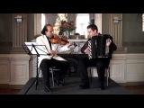 Musichini - Galliano - Song for Joss - Violin &amp Accordion - Kurylenko Accordeon Fisarmonica Баян