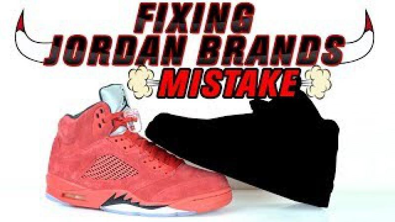 Fixing Jordan Brands Mistake - Raging Bull 5 Custom by Vick Almighty