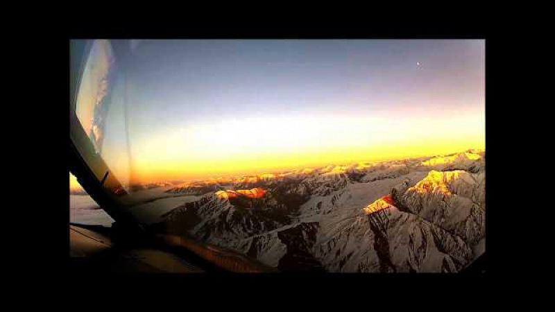 В Сети появилось видео с кабины пилота, которое не должны были видеть пассажиры