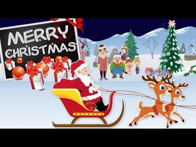 We Wish You A Merry Christmas | Full Carol With Lyrics | Christmas Carols For Kids